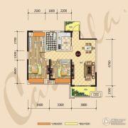 建昌・卡斯迪亚2室2厅1卫0平方米户型图