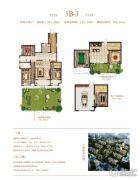 荣邦城3室2厅2卫331平方米户型图