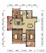星洲国际3室2厅2卫131平方米户型图