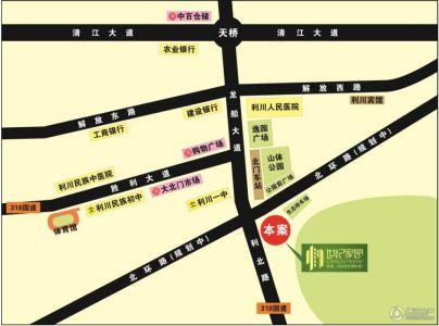 利川城区地图全图