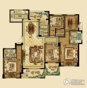 德信・湖滨1号5室2厅3卫153平方米户型图
