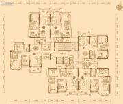 绿湖国际城80--121平方米户型图