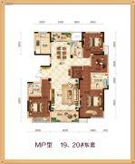 锦绣江南4室2厅3卫0平方米户型图