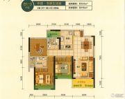蓝光・林肯公园3室2厅2卫101平方米户型图