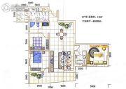 海源财富中心3室2厅2卫139--140平方米户型图