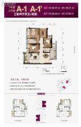 北大资源燕南3室2厅2卫0平方米户型图