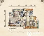五矿龙湾别墅4室2厅2卫165平方米户型图