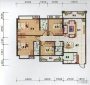 府前雅居苑4室2厅3卫146平方米户型图
