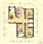 众和凤凰城3室2厅2卫0平方米户型图