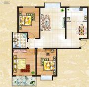 一品臻境3室2厅1卫0平方米户型图