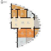 捷恒・悦城3室0厅2卫115平方米户型图