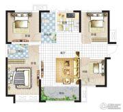亚星盛世4室1厅2卫120平方米户型图