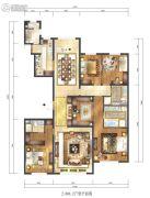 紫辰院266平方米户型图