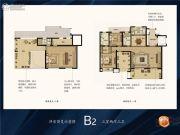 银盛泰・博观新城3室2厅3卫0平方米户型图