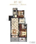 滨江公园壹号2室2厅2卫0平方米户型图