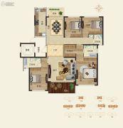怡海龙湖壹号4室3厅3卫0平方米户型图