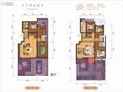 龙记玖玺6室3厅3卫256平方米户型图