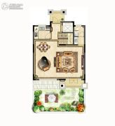 德庆名邸0室1厅1卫0平方米户型图