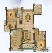 雅居乐・涟山3室2厅3卫143平方米户型图