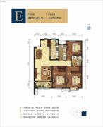 呼和浩特富力城3室2厅2卫141平方米户型图