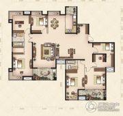 美岸观邸6室2厅2卫227--229平方米户型图
