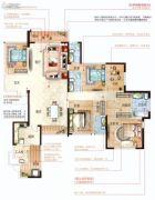 恒大帝景5室2厅4卫273平方米户型图