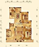 大华锦绣华城3室2厅0卫102平方米户型图