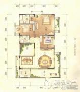 经典天成云墅3室2厅2卫0平方米户型图