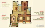 明月湾3室2厅2卫113--125平方米户型图
