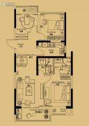 绿地苏州ONE3室2厅2卫100平方米户型图