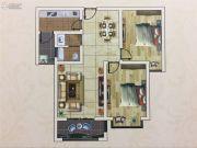 六和世家2室2厅1卫87--88平方米户型图