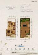 大理银海山水间2室2厅1卫82平方米户型图