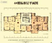 随州恒大御府4室2厅2卫0平方米户型图
