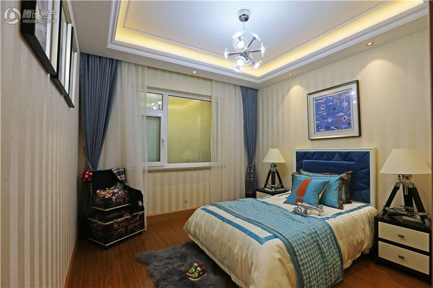 108平宽敞舒适儿童房