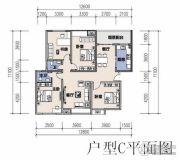 恩施机电汽配城3室2厅2卫139平方米户型图