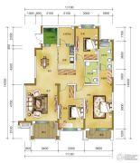 希望廊桥郡3室2厅2卫135--145平方米户型图