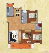 友谊嘉御龙庭3室2厅2卫175平方米户型图