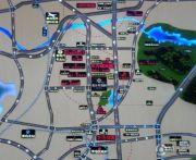 鑫江桂花园交通图