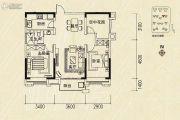 沿海馨庭3室2厅1卫90平方米户型图