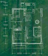 依山小筑2室2厅1卫0平方米户型图
