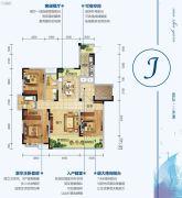 三沙源国际生态文化旅游度假区3室2厅2卫143平方米户型图