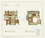 九洲绿城・翠湖香山5室2厅3卫199--207平方米户型图