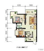 锦绣蓝湾2室1厅1卫0平方米户型图