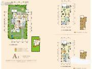 奥园城市天地3室2厅2卫103平方米户型图