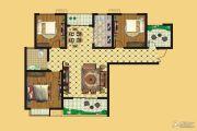 壹号公园3室2厅1卫127平方米户型图