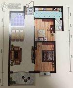 远达锦绣半岛2室1厅1卫94平方米户型图