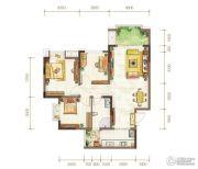 金隅时代都汇2室2厅1卫73平方米户型图