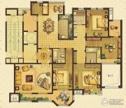 远见4室2厅3卫233平方米户型图