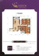 银湖星城4室2厅2卫0平方米户型图
