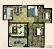 大成门2室2厅1卫94平方米户型图